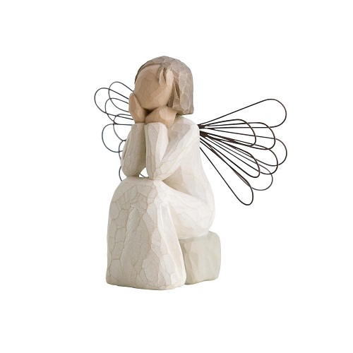 willow tree angel of caring figurine gift idea new ebay. Black Bedroom Furniture Sets. Home Design Ideas
